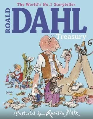 the roald dahl treasury 0224046918 the roald dahl treasury by roald dahl quentin blake waterstones