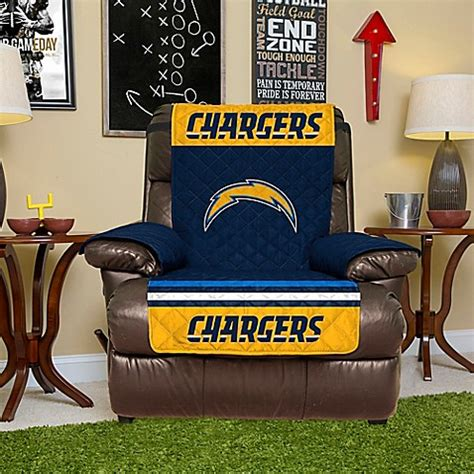 futon covers san diego nfl san diego chargers recliner cover bed bath beyond
