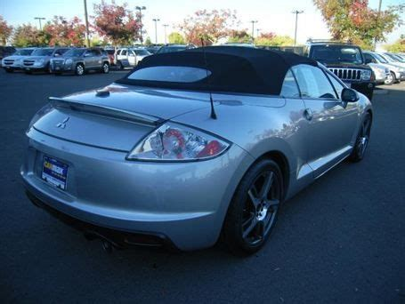 automotive repair manual 2009 mitsubishi eclipse seat position control sell used 2009 mitsubishi eclipse spyder gt convertible 2 door 3 8l in columbus ohio united states