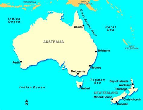 australia sea map australian kayakers successfully paddled across the tasman sea