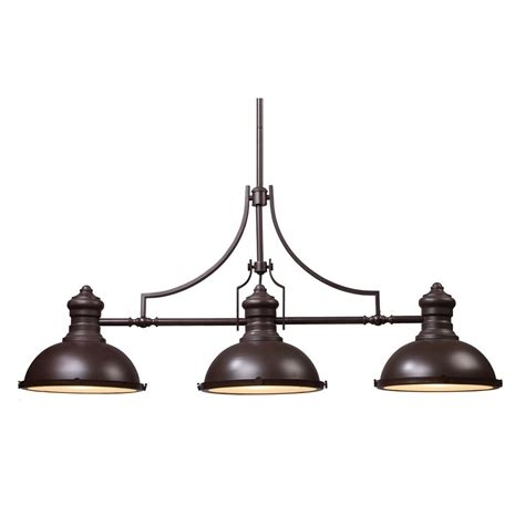 3 Light Linear Pendant Chadwick Three Light Linear Island Pendant 66135 3