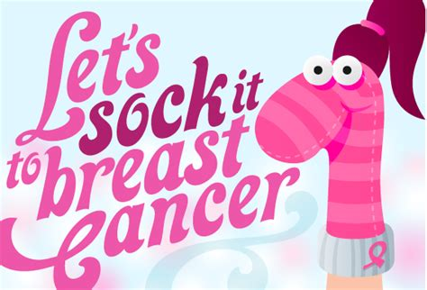 by walking and fundraising in the american cancer society making iphone tutorial and more fwd let s sock it to breast