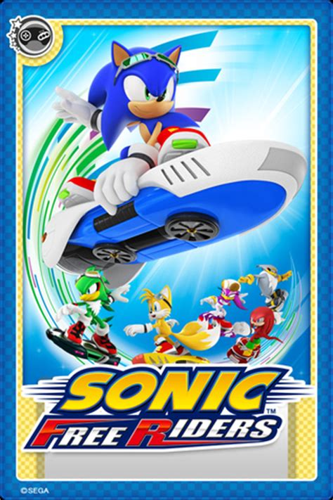 Sonic Gift Card Online - image sonic free riders card jpeg sonic news network fandom powered by wikia