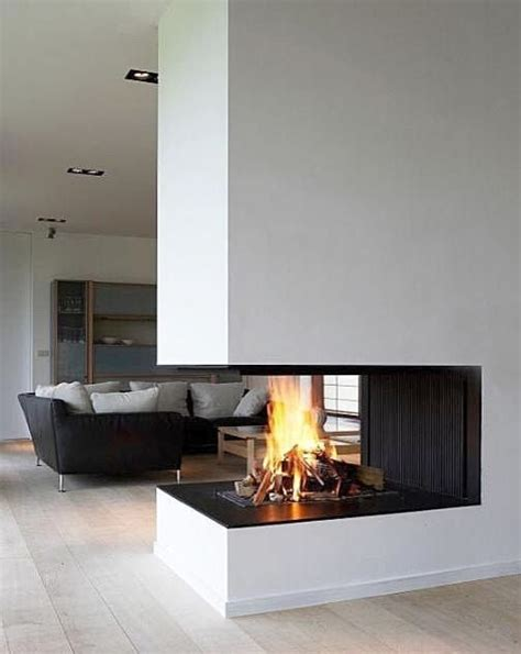 Modern Corner Fireplaces by Corner Fireplace