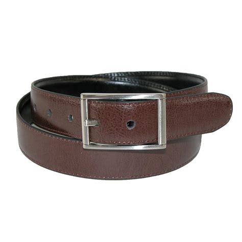 boys leather centerbar reversible belt by dockers