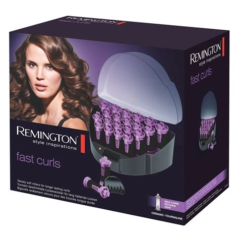 Remington Hair Rollers Curl Kf40e fast curls heated rollers remington kf40e