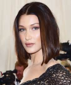 Best Magazine For Home Decorating Ideas by Bella Hadid S 2017 Met Gala Lob Haircut Instyle Com