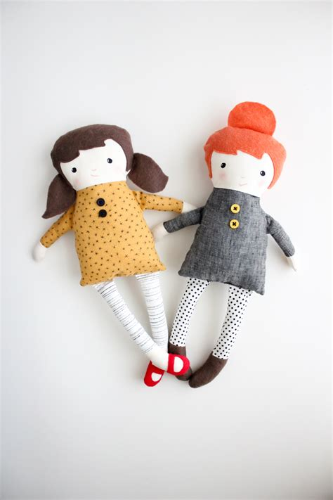 Handmade Doll Patterns Free - t is for two