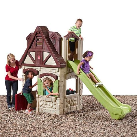 toddler playhouse with slide 62 best images about tikes toys on