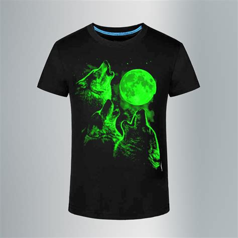 Summer S Simple Leisure Sleeves T Shirt Size M 3d shining t shirts leisure fluorescent personalized luminous sleeve t shirt summer