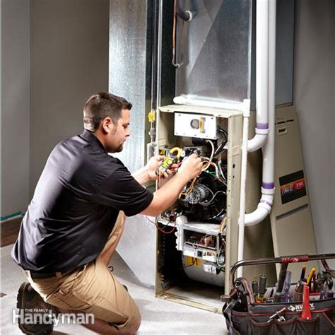 3 easy furnace repairs the family handyman