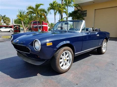 1980 fiat spider convertible 1980 fiat 124 spider for sale 1963576 hemmings motor news