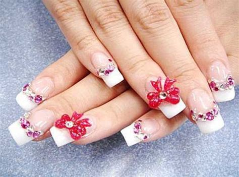 best 3d acrylic nail art design 40 cute and easy nail art designs for beginners easyday