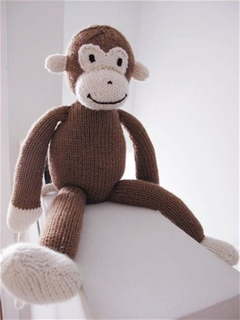 monkey knitting 67 best images about knitted monkeys bears on