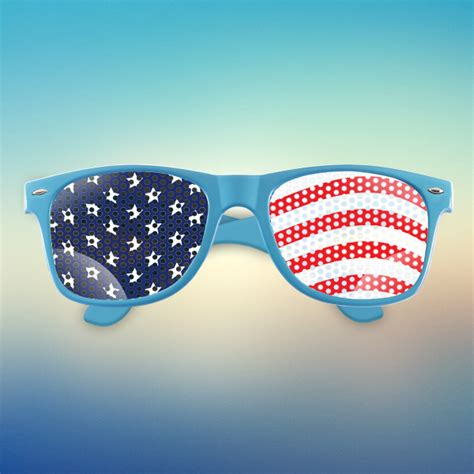 American Souvenir why are american flag sunglasses most favored american