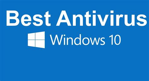 best free best free antivirus for windows 10 available