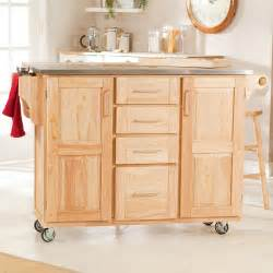 Fairmont kitchen cart with optional stools kitchen islands and carts