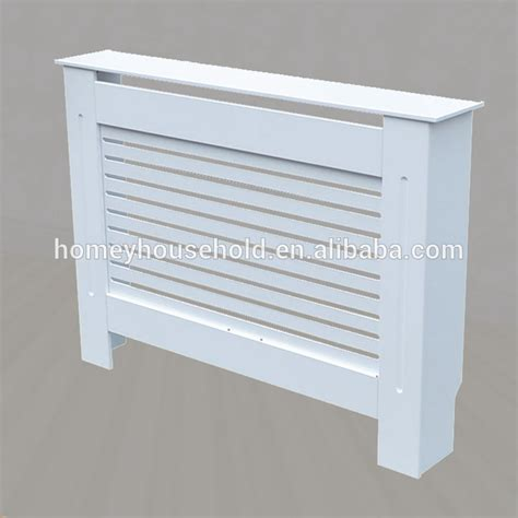 White Painting Wooden Mdf Small Radiator Cabinet Radiator