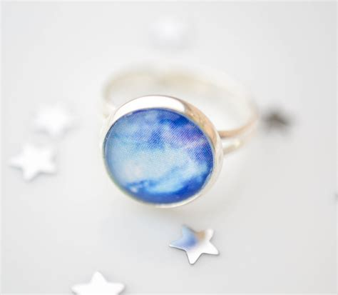 galaxy ring universe ring space jewelry