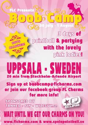 boob camp . . book in now