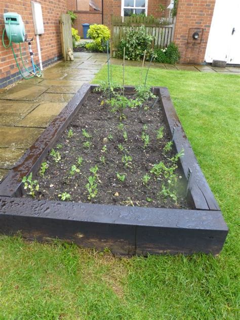 Raised Beds Railway Sleepers by Railway Sleeper Raised Bed Projects
