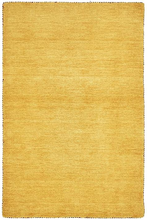 gold area rugs solid gold 3 3 x 5 3 solid gabbeh rug area rugs irugs uk