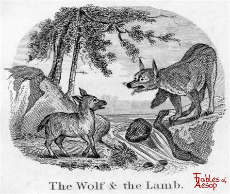 wolf and the wolf and the fables of aesop