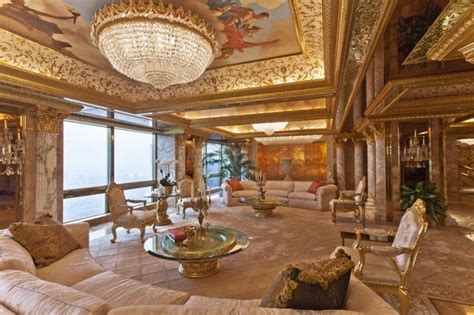 inside trumps penthouse donald trump house photo
