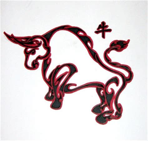 chinese ox tattoo designs infinity tattoos free designs of zodiac signs and