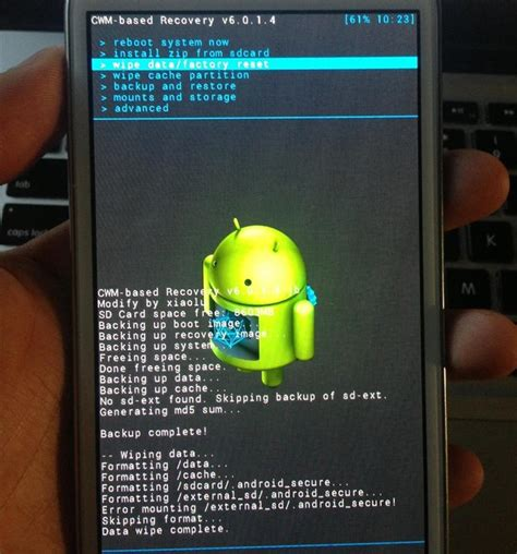 reset android on samsung how to flash a custom rom onto your samsung galaxy note 2