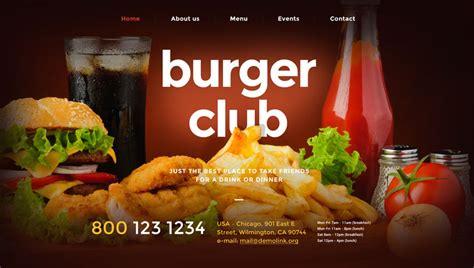 Best Restaurant Website Templates 97 Best Restaurant Cafe Website Templates Free Premium Freshdesignweb