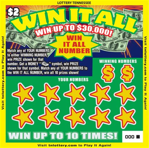 lottery tennessee lottery tennessee