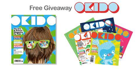 Giveaway Magazine - free giveaway okido magazine