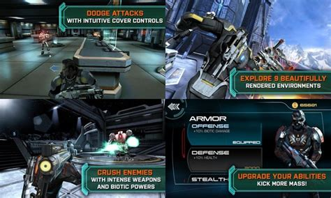 mass effect apk mass effect infiltrator apk sd data android