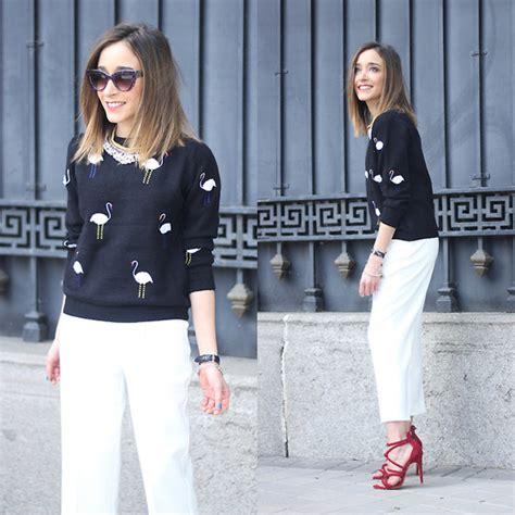 Zara Flamingo Dress besugarandspice fv sheinside sweater zara trousers