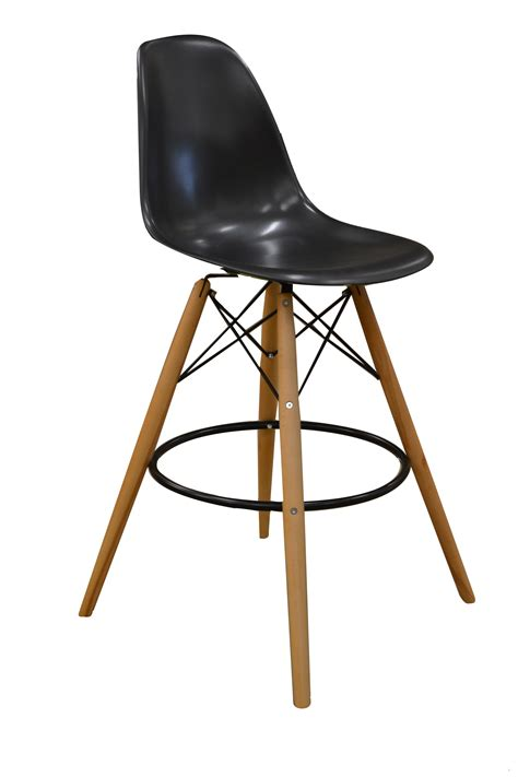 modern bar stools without backs popular black low back scoop modern bar stools with walnut