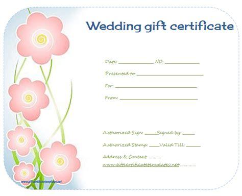 flower gift card template flower gift certificate templates