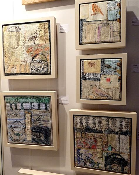 how to display art displaying and hanging textile art textileartist org