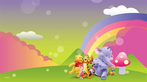 wallpaper animasi winnie the pooh winnie the pooh wallpapers wallpaper cave