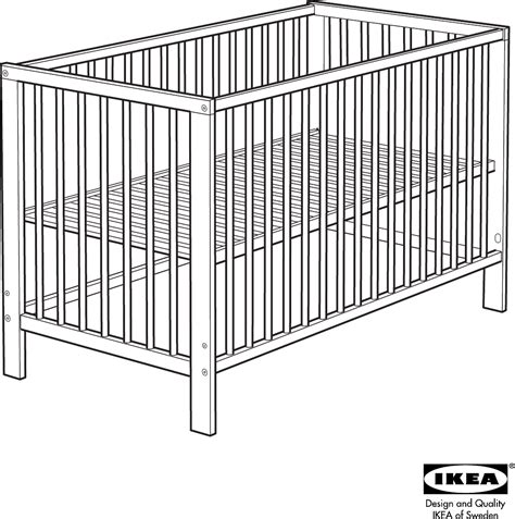 ikea leksvik crib toddler bed creative