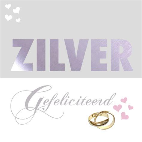 25 jaar getrouwd zilver felicitatie felicitatiekaart zilveren huwelijk felicitatiekaarten