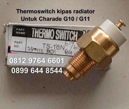 Switch Atret sparepart mobil daihatsu charade thermoswitch kipas radiator