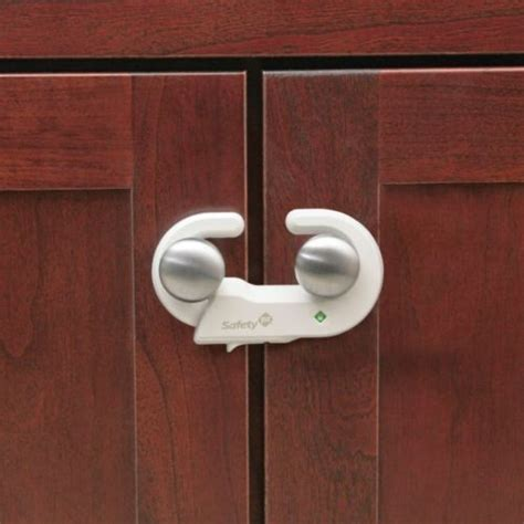 safety locks for kitchen cabinets safety 1st grip n go cabinet lock with secure tech for