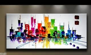New Home Decoration Items Aliexpress Buy Handpainted Modern Abstract