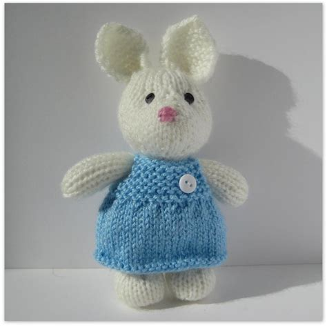 knitting pattern rabbit toy millie the rabbit toy knitting pattern on luulla