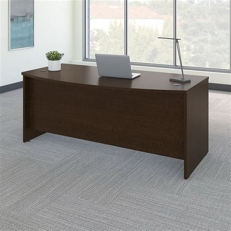 Front Desk For Business by Bush Business Furniture Series C 72w Bow Front Desk Shell