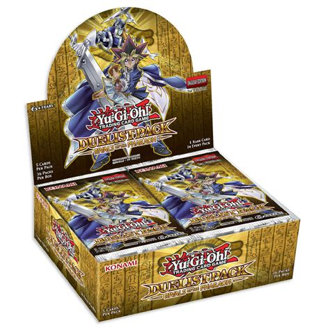 Yu Gi Oh Box 1 Yu Gi Oh Cards Duelist Pack Rivals Of The Pharaoh Factory