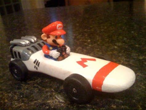 mario kart pinewood derby template the sirois pinewood derby