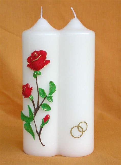 candele per matrimoni kerzen f 252 r hochzeiten