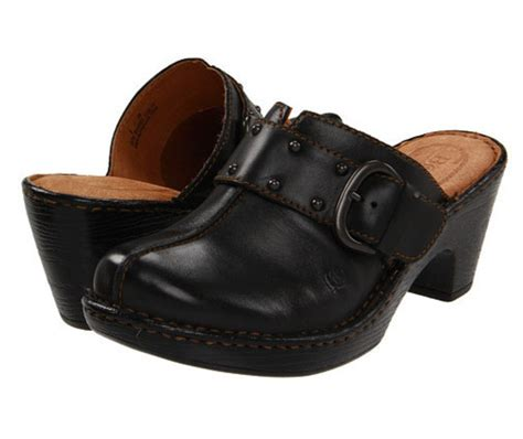 platform clogs for womens shoes born platform clogs mules heels black